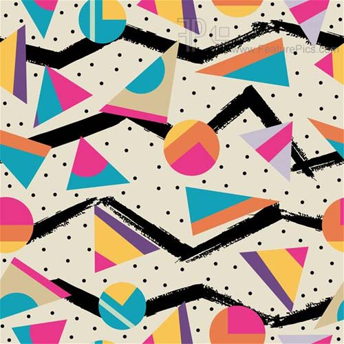 Retro 80s Pattern
